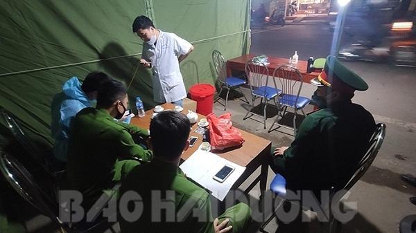Hải Dương: Lập trạm kiểm soát dịch Covid-19 liên tỉnh tại ngã ba Quý Cao