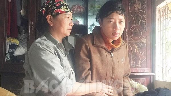 Cô gái Hải Dương từng bị mất tích trở nên ngờ nghệch
