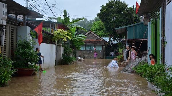 Điện Biên: Cảnh báo lũ quét, sạt lở đất và ngập úng cục bộ có nguy cơ xảy ra trong toàn tỉnh
