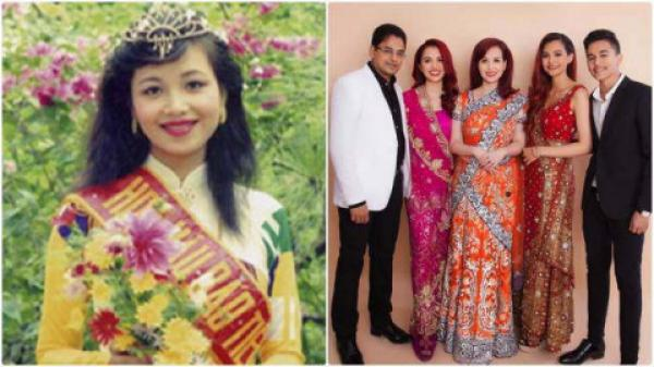 Hoa hậu Việt Nam duy nhất lấy chồng ngoại quốc: Chịu đàm tiếu giờ viên mãn làm mẹ 3 con