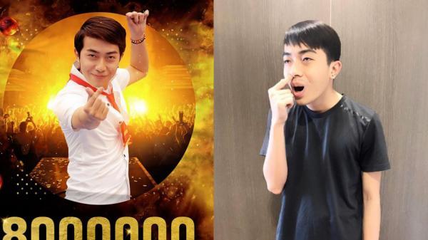 Kênh YouTube của streamer quê Kiên Giang đạt 8 triệu lượt sub, lọt top 4 kênh hàng đầu Việt Nam