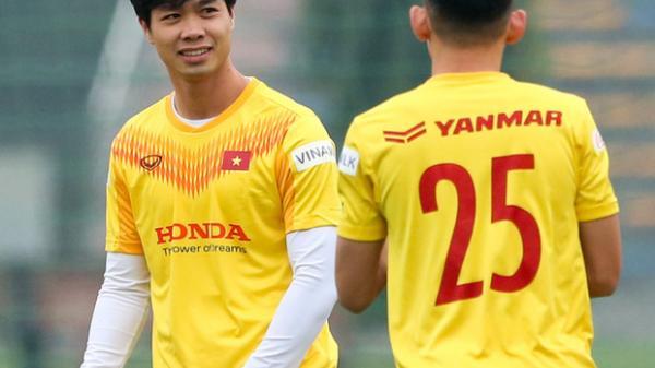 Công Phượng có thể trở lại tuyển Việt Nam trước trận gặp Australia