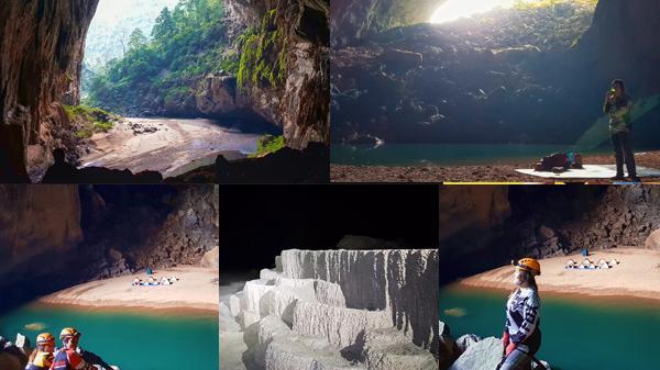 Khám phá và chiêm ngưỡng vẻ kỳ thú bên trong hang Én không hề thua kém Sơn Đoòng