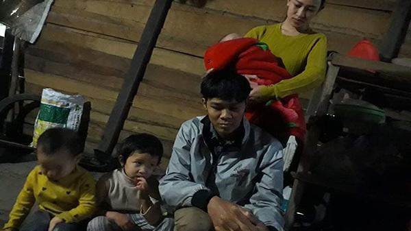 Hà Tĩnh: Cha bệnh nặng sắp chết chỉ mong có tiền mua sữa cho con