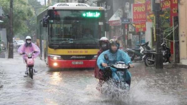 Bắc Bộ mưa dông diện rộng ngày cuối tuần