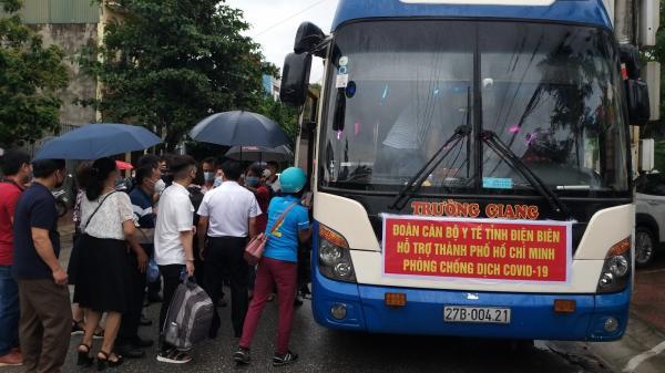 Điện Biên: Cử 31 cán bộ y tế lên đường hỗ trợ TP.HCM chống dịch Covid -19
