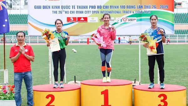 Quảng Bình giành được 02 Huy chương tại Giải Điền kinh Quốc tế Thành phố Hồ Chí Minh - Việt Nam năm 2019