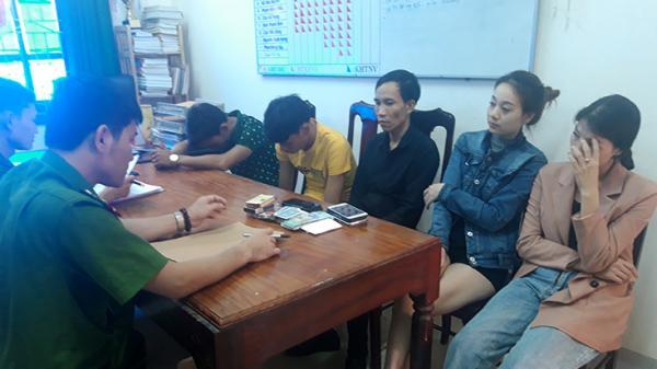 Công an huyện Minh Hóa: Bắt giữ 5 đối tượng đánh bạc