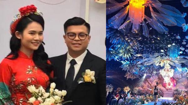 Hình ảnh 2 nhân vật chính của siêu đám cưới, nhân viên nhà hàng tiết lộ chi phí tổ chức đám cưới lên đến 54 tỷ
