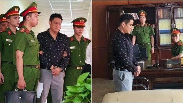 Xôn xao hình ảnh diễn viên Minh Tiệp bị công an b.ắt