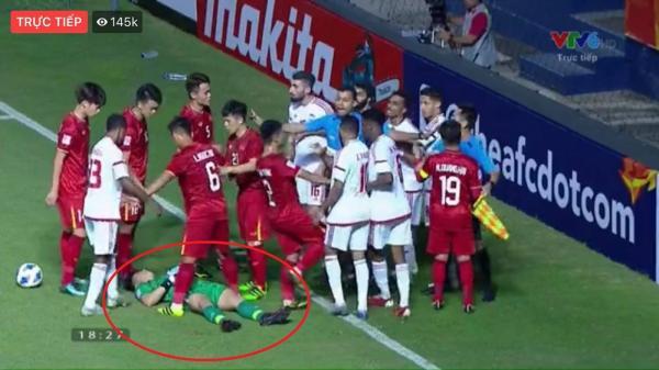 U23 Việt Nam nhận tin không vui: Bùi Tiến Dũng chấn thương sau trận