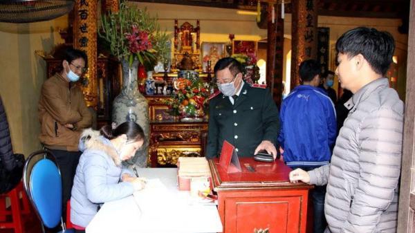 Hà Nam tích cực, quyết liệt các giải pháp phòng, chống dịch nCoV tại di tích lịch sử văn hóa