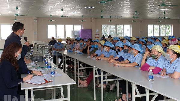 Giải quyết thỏa đáng những kiến nghị, đề xuất của công nhân Công ty TNHH JY Hà Nam