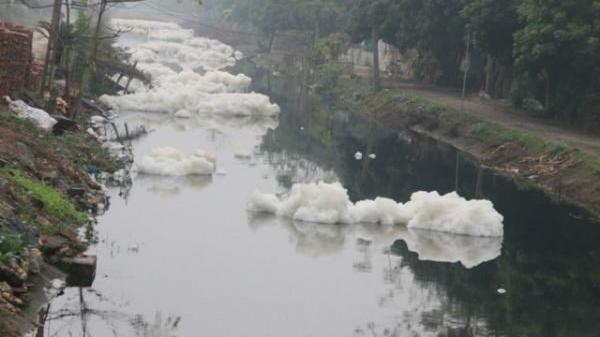 Hà Nam: Nước sông Nhuệ ô nhiễm báo động cấp 2