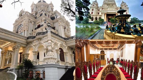 Lâu đài của đại gia ở Hà Nam và các đại gia Việt: 4 mặt tiền, dát vàng 24k, xây cả nhà hát tráng lệ bên trong