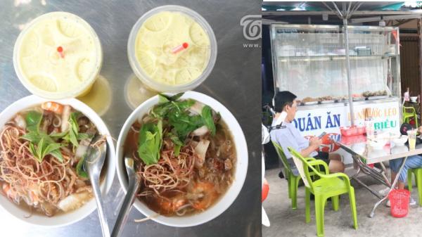 Lạ miệng với món bún nước lèo heo quay 'gia truyền 3 đời' tại Cà Mau khiến thực khách 'ngất ngây' từ lần ăn đầu
