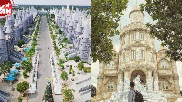 Lâu đài cổ tích tựa trời Âu giữa lòng miền Tây, vui chơi hết mình, không ngại âu lo