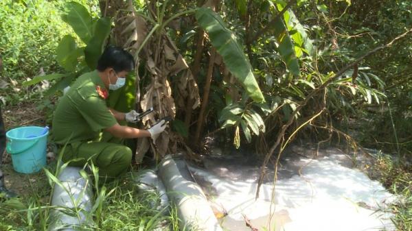 Kiên Giang: Cơ sở giặt ủi xả thải không qua xử lý ra môi trường