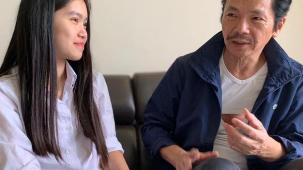 'Ông bố quốc dân' NSND Trung Anh muốn kén chàng rể không cam phận ở nhà trọ sau khi cưới, dân tình mất tập trung: Ôi con gái chú xinh thế!