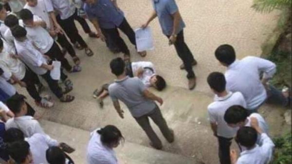 Thanh Hóa: Nam sinh cấp 3 bất ngờ nhảy lầu trong giờ ra chơi
