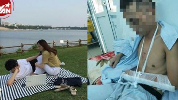 Vì lỡ like ảnh gái lạ, chàng trai bị bạn gái đánh gãy tay nhập viện