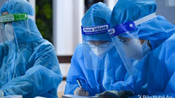 Sáng 10/9, Nghệ An ghi nhận 5 ca nhiễm Covid-19 mới, trong đó 1 ca cộng đồng