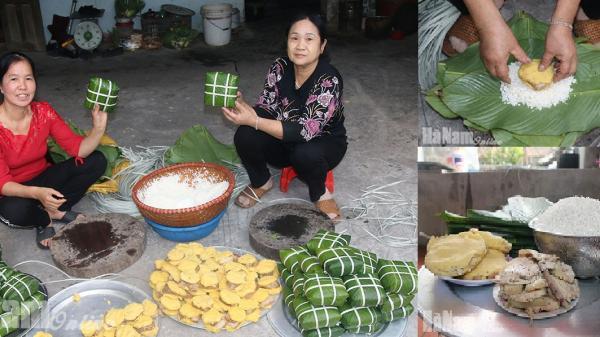 Hà Nam: Tận mắt chứng kiến quy trình làm bánh chưng ngon nổi tiếng trong Nam, ngoài Bắc và cả nước ngoài