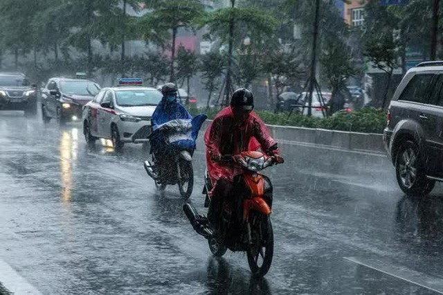 Miền Bắc mưa diện rộng từ chiều nay