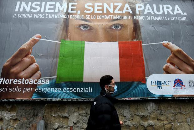Vùng Lombardy (tâm dịch của Italy) ghi nhận 320 trong tổng số 601 nạn nhân tử vong vào ngày 23/3 (Ảnh: AFP)