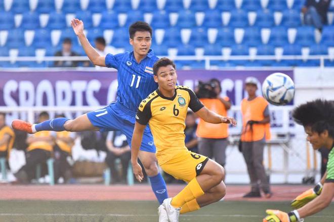 Thái Lan đã có trận đấu dễ dàng trước Brunei.