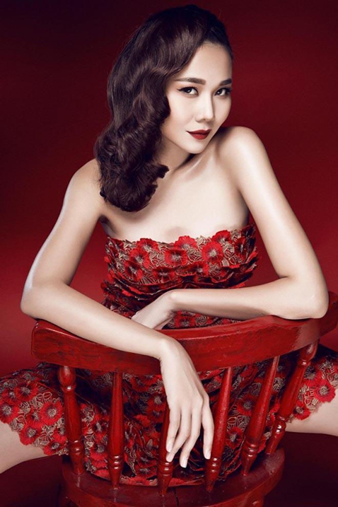 Thanh Hằng đang là siêu mẫu hàng đầu làng giải trí trong nước.
